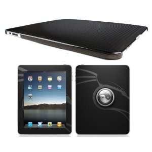 Bundle Monster Apple Ipad (1st Generation) Hard Back Case Cover + Skin