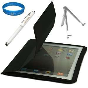 Protective Skin Cover with Fold to Stand Feature for Apple iPad 2 Wifi