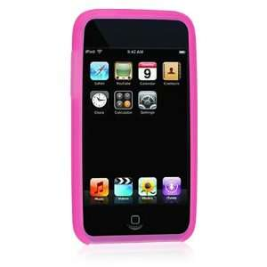 Premium Hot Pink Silicone Skin Cover Case for Apple Ipod Itouch Touch