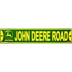 John Deere Rd Sign (24x5): Patio, Lawn & Garden