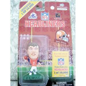 Limited Edition Throwbacks Headliners   John Elway   Denver Broncos