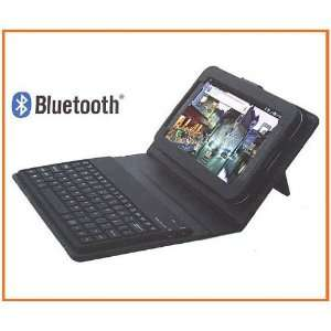 Keyboard Leather Case for Samsung P1000 Galaxy Tab Cell Phones