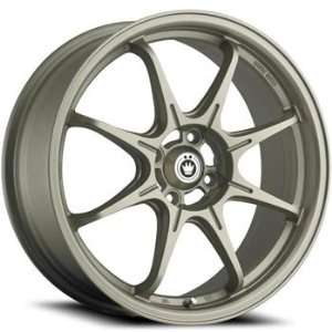Konig Eco1 17x7 Silver Wheel / Rim 4x100 with a 40mm Offset and a 73