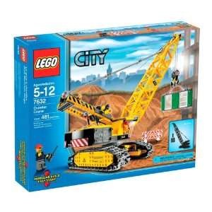 LEGO City Crawler Crane (7632) : Toys & Games :