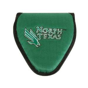 North Texas Mean Green NCAA Mallet Putter Cover