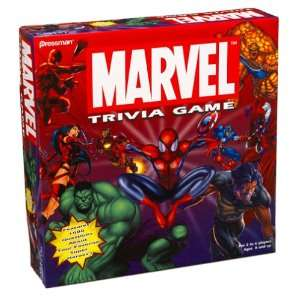 Marvel Comics Spiderman Trivia Game : Toys & Games :