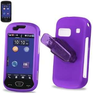 Cell Phone Case for Samsung Craft R900 MetroPCS   PURPLE: Cell Phones