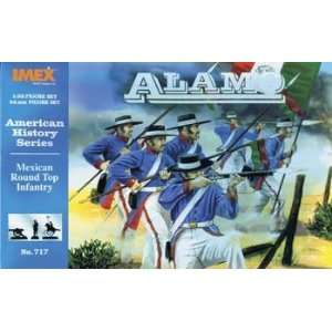 IMEX   1/32 Mexican Round Top Infantry (Plastic Figure