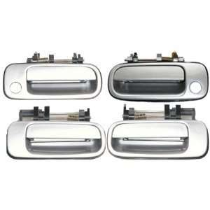 Camry Silver 176 Replacement Set 4 Outside Door Handles: Automotive