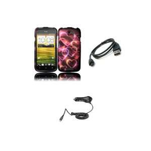 HTC One S (T Mobile) Premium Combo Pack   Colorful Multi