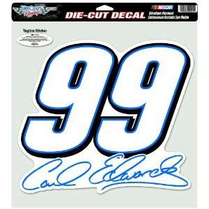NASCAR Carl Edwards Die Cut Decal ( 12 x 12 Inch) Sports