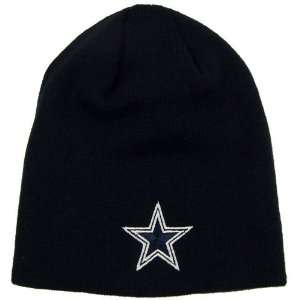 DALLAS COWBOYS EMBROIDERED TEAM LOGO BEANIE CAP HAT