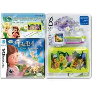 Fairies Tinkerbell and the Great Rescue with Case Bundle Video Games