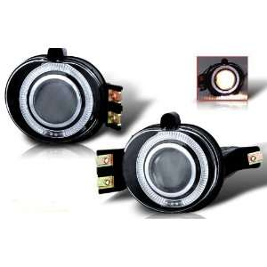 WinJet 02 08 Dodge Ram Halo Projector Fog Lights   (Clear
