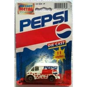 PEPSI Diecast PEPSI COLA Delivery Panel Van (1993) Toys