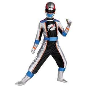 Power Rangers Operation Overdrive Silver Costume (Larg