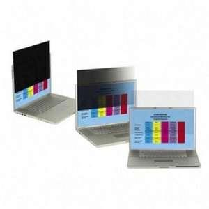 15.4 Widescreen Notebook Privacy Filter Matte Side