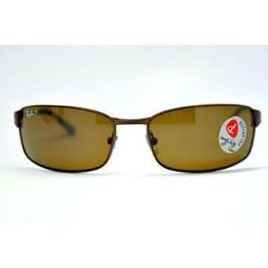 Ray Ban RB3269 Brown/ Brown Polarized 014/57 63MM Sunglasses