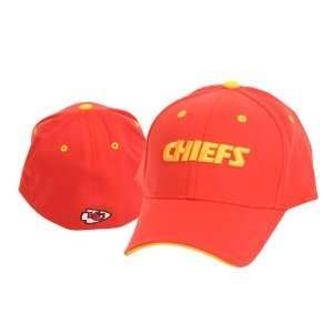 City Chiefs NFL Team Apparel Red Fitted OSFA Hat