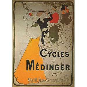 BICYCLE MEDINGER BIKE CYCLES PARIS FRANCE FRENCH VINTAGE