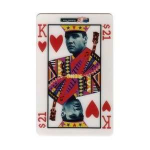 Collectible Phone Card $21. Elvis Presley King of Hearts III (Reverse