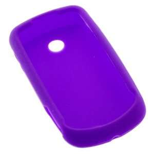 GTMax Purple Silicone Skin Soft Cover Case for AT&T Samsung Solstice