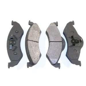 Prime Choice Auto Parts SMK820 Premium New Semi Metallic Front Brake