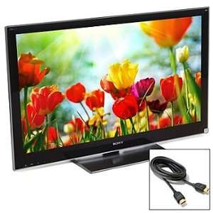 SONY BRAVIA 46 LED LCD 3D HDTV WITH 6 CABLE Everything