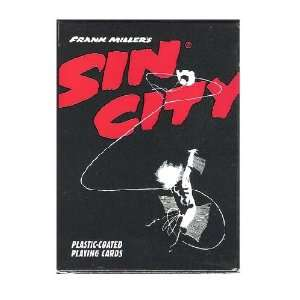 Frank Millers Sin City Collectibles Poker Playing Cards
