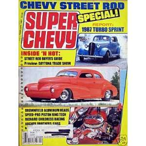 Chevy Street Rod Special   February, 1987