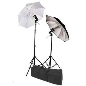 High Quality Umbrella Strobe Photo Lighting 2 Lights Flash