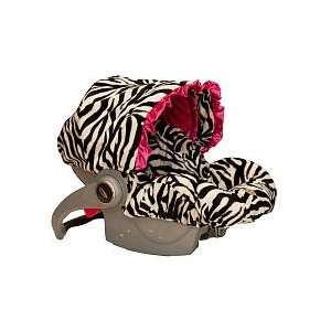 Baby Bella Maya Infant Car Seat Cover Zoe Zebra Baby
