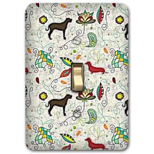 Dog Metal Light Switch Plate Cover Home Decor 229