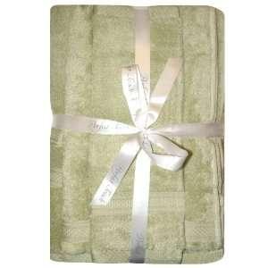 Perfect Touch Three Piece Towel Set Lt SageStandard