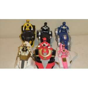 Mcdonalds Power Rangers with Zoids Set of 6 Toys & Games