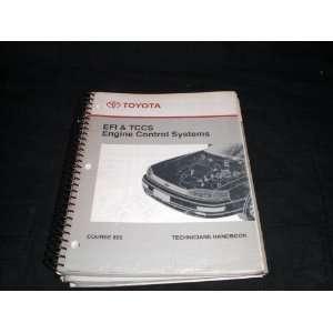 Toyota EFI & Tccs Engine Control Systems. Course 850 Handbook toyota