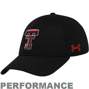 Under Armour Texas Tech Red Raiders Black Splitter Stretch Fit