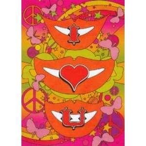 Valentines Day Greeting Card   I Love U (9780977877263