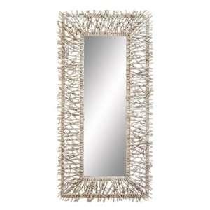 Captivating Metal Wood Decorative Wall Mirror