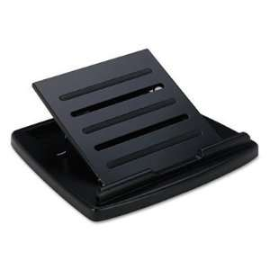 Wood Tones Laptop Stand, Black
