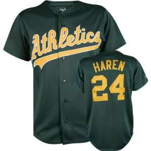 MLB Second Home Dark (Wrong Jersey #) Replica Oakland Athletics Jersey