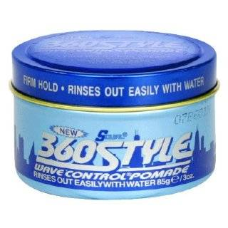 Lusters 360 Style Wave Control Pomade 3 oz. (3 Pack) with