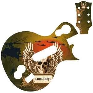 Air Mobile Battleskin for Les Paul Guitar Controller Video Games