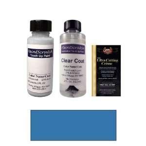 2 Oz. Daytona Blue Metallic Paint Bottle Kit for 1990