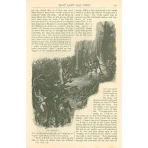 1878 Raccoon Hunting in the South Black Americana