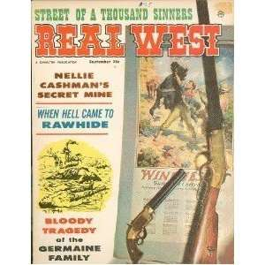 Real West Magazine Sept 1962 Dalton Brothers Rawhide