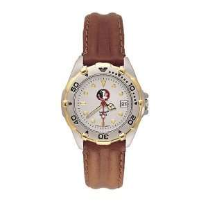 Florida State Seminoles Ladies NCAA All Star Watch (Leather Band