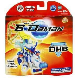 Battle B Daman Direct Hit Figure: Cobalt Blade : Toys & Games :