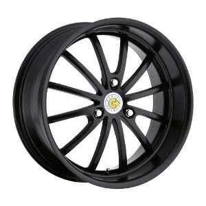 17x6 Genius Darwin (Matte Black) Wheels/Rims 3x112 (1760GED223112B57)