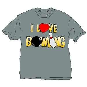 Love Bowling T Shirt  2 Colors